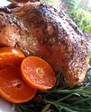 Clementine, Cumin and Fennel Seed Roasted Chicken